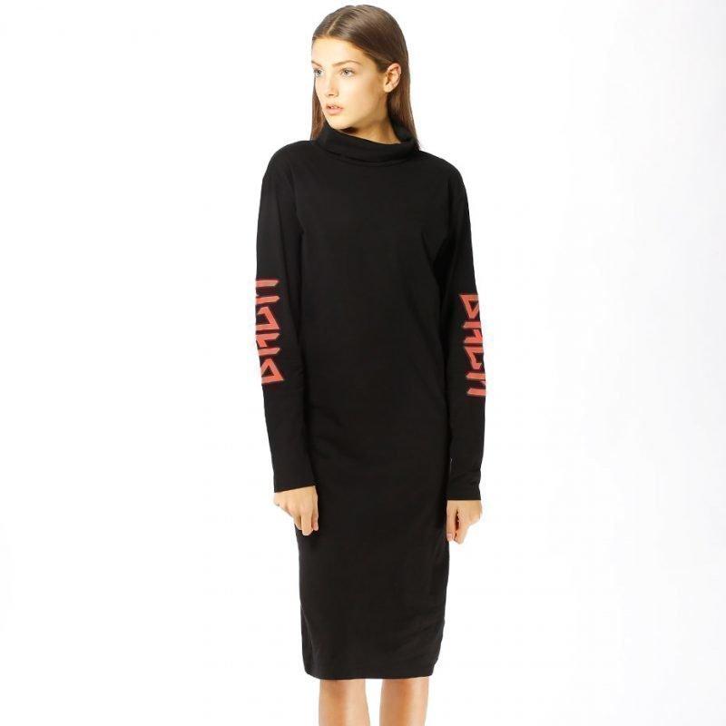 BACK Polo Dress Print -mekko