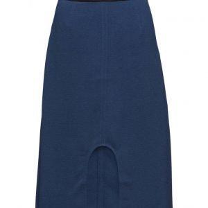 BACK U-Split Logo Skirt mekko