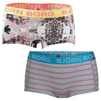 BB Girls Mini Shorts Zen Stripe and Spaced Out 2 pakkaus