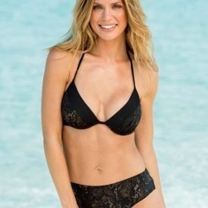 BEACHWAVE Bikinihousut Musta Kulta