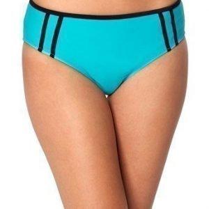 BEACHWAVE Bikinihousut Salma Turkoosi Musta