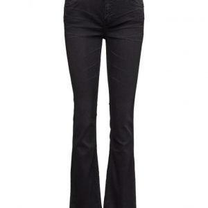 BLK DNM Jeans 16 Meehan Black leveälahkeiset housut