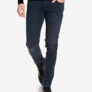 BLK DNM Jeans 25 Beadel Black Farkut Dark Blue Denim