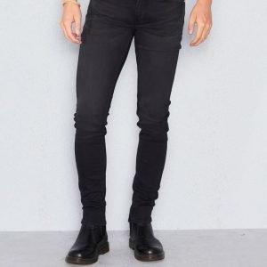 BLK DNM Jeans25 Fulton Black Skinny