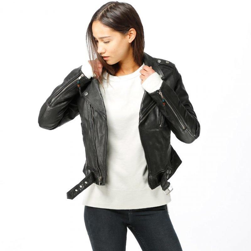 BLK DNM Leather Jacket 1 -takki