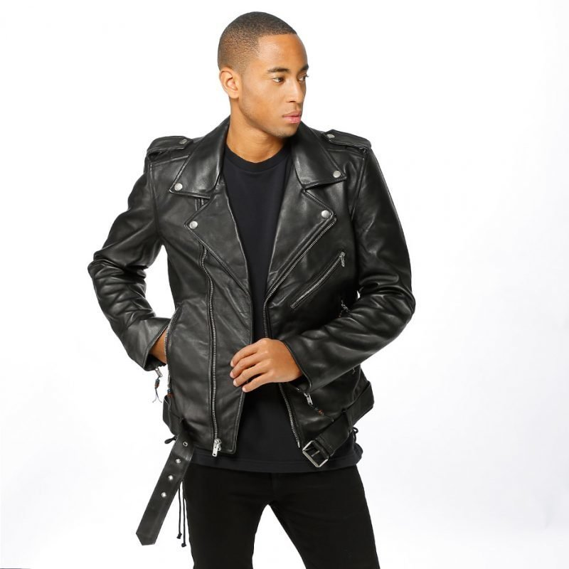 BLK DNM Leather Jacket 5 -takki