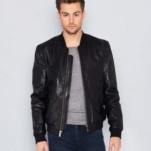 BLK DNM Leather Jacket 81 Black