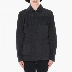 BLK DNM Leather Jacket 89 Suede