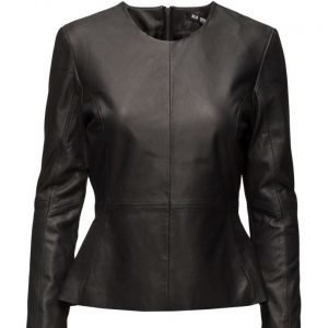 BLK DNM Leather Shirt 9 nahkatakki