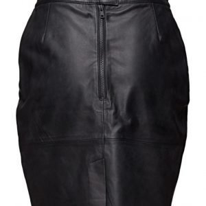 BLK DNM Leather Skirt 12 kynähame