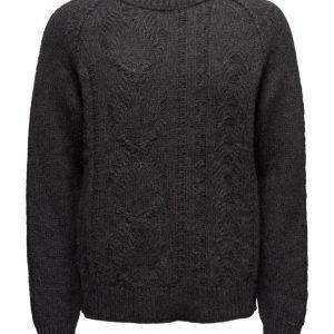 BLK DNM Sweater 60 pyöreäaukkoinen neule