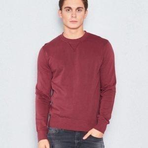 BLK DNM Sweatshirt 45 Burgundi