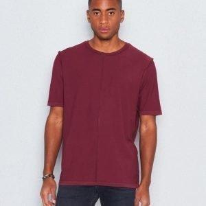 BLK DNM T-Shirt 80 Burgundi
