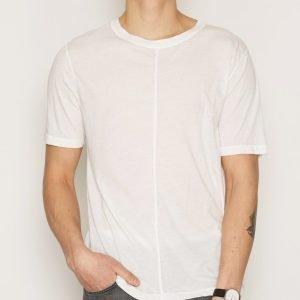 BLK DNM T-shirt 99 T-paita Ash White