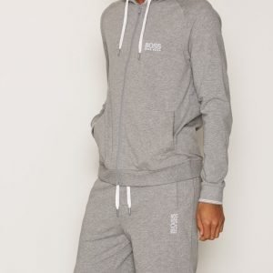 BOSS Hooded Jacket Loungewear Grey