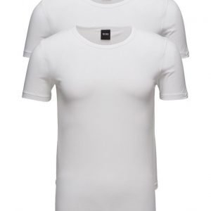 BOSS T-Shirt Rn 2p Co/El lyhythihainen t-paita