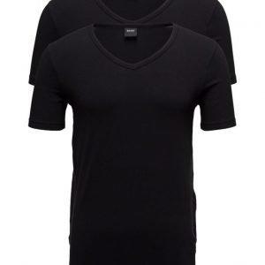 BOSS T-Shirt Vn 2p Co/El lyhythihainen t-paita