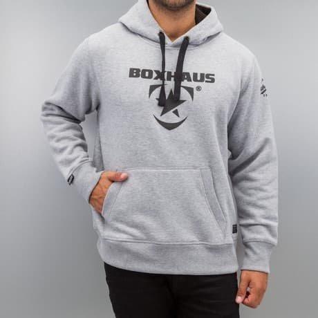 BOXHAUS Brand Huppari Harmaa