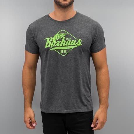 BOXHAUS Brand T-paita Harmaa