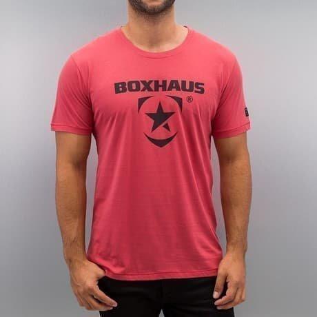 BOXHAUS Brand T-paita Punainen