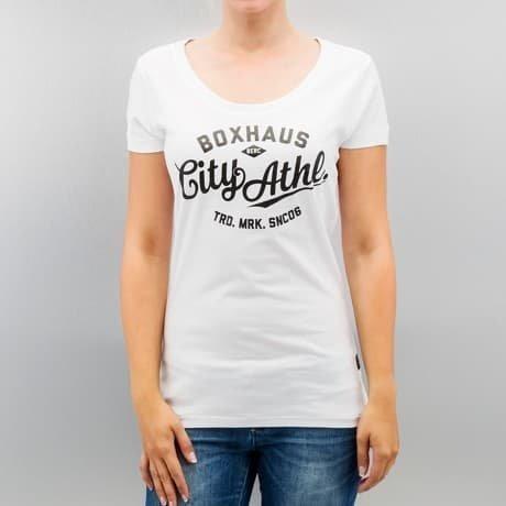 BOXHAUS Brand T-paita Valkoinen