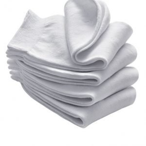 Babista Naisten Sukat 4-Pakkaus Valkoinen