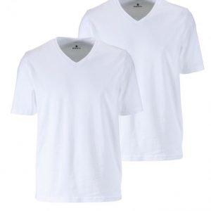 Babista T-Paita Tuplapakkaus Valkoinen