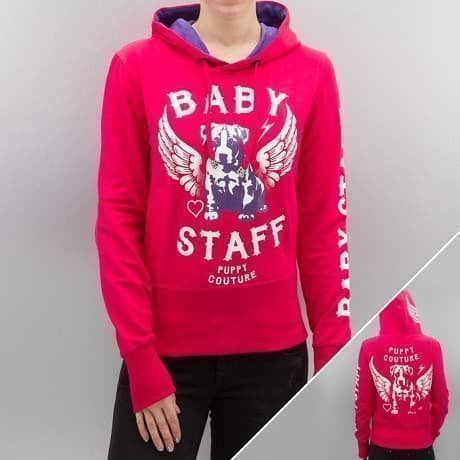 Babystaff Huppari Vaaleanpunainen
