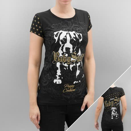 Babystaff T-paita Musta