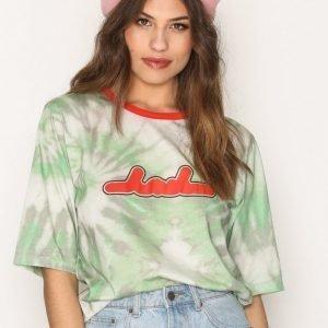 Back Box T-Shirt T-Paita Green