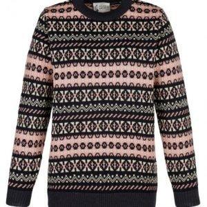 Balmoral Knitwear Neulepusero Laivastonsininen / Roosa / Ekru