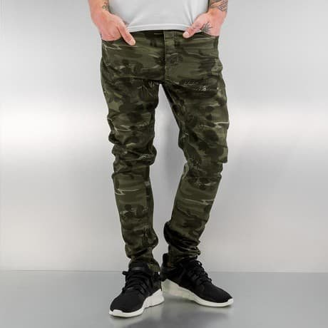 Bangastic Slim Fit Farkut Camouflage