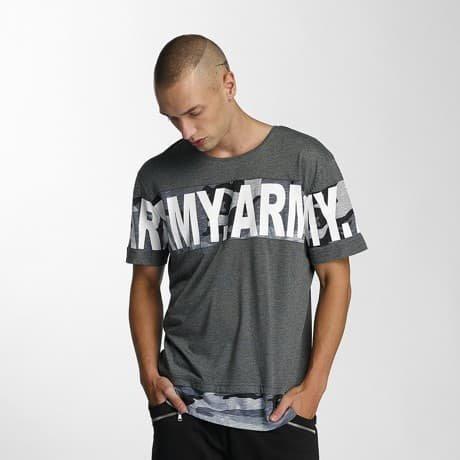 Bangastic T-paita Harmaa
