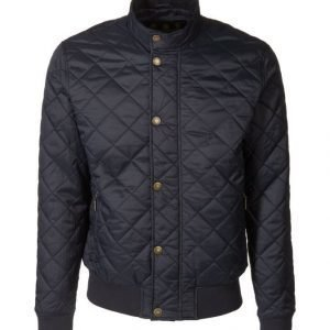 Barbour Moss Quilted Bomber Takki