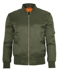 Basic Bomber Jacket Olive