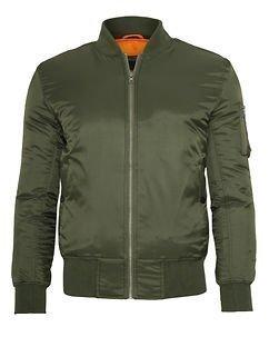 Basic Bomber Jacket Olive