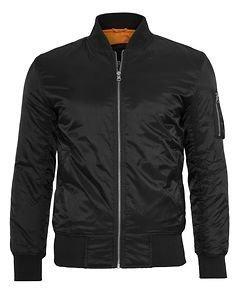 Basic Bomber Jacket black