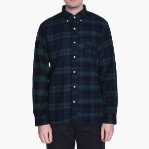 Beams+ Button Down Check Crazy Shirt