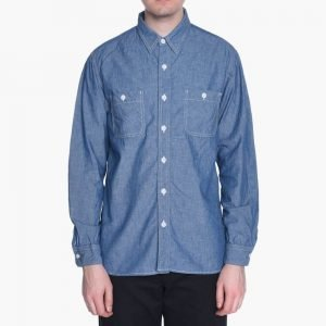 Beams+ Chambray Work Shirt