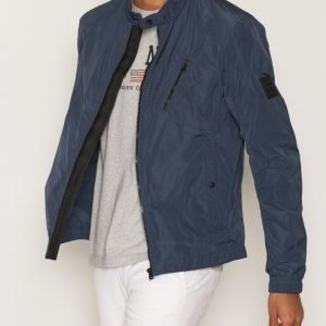 Belstaff Stapelford Simple Blouson Takki Navy Blue