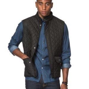Belstaff Waistcoat Quilt 9000 Black