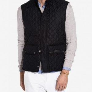 Belstaff Waistcoat Quilted Jacket Takki Dark Navy