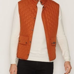 Belstaff Waistcoat Quilted Jacket Takki Oranssi