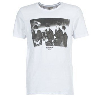Ben Sherman THE BEATLES PHOTOGRAPHIC lyhythihainen t-paita