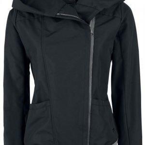 Bench Cosy Hood Asymetrical Jacket Naisten Välikausitakki