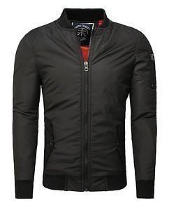 Bike Bomber Jacket Black