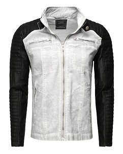 Biker Jacket Light Grey