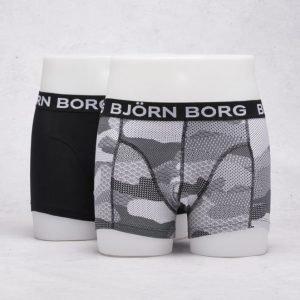 Björn Borg 2-Pack Japanese Camo Boxer 90011 Black
