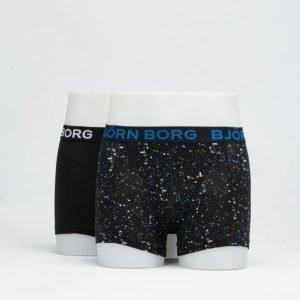 Björn Borg 2-Pack Mineral Boxer 90011 Black