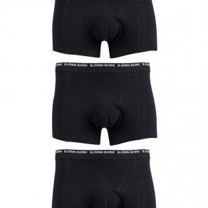 Björn Borg 3-Pack Basic NOOS Short Shorts Bokserit Musta